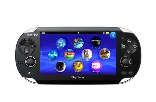 Sony PSP2 NGP Touch Screen Rear Touch Pad Quad Core GPU and CPU