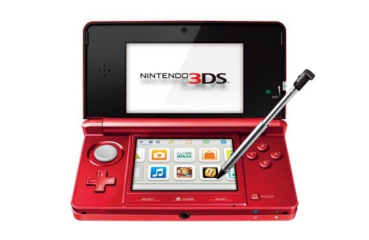 red 3DS console